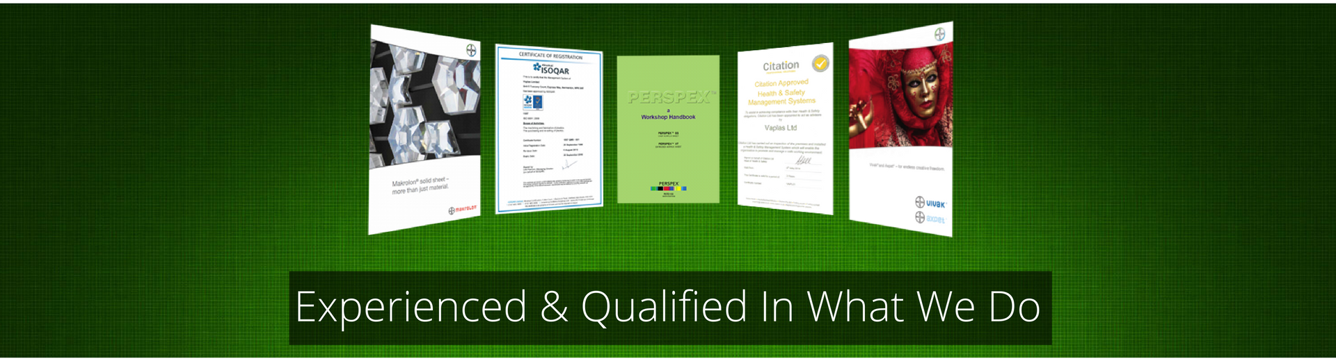 Experienced and Qualified in what we do